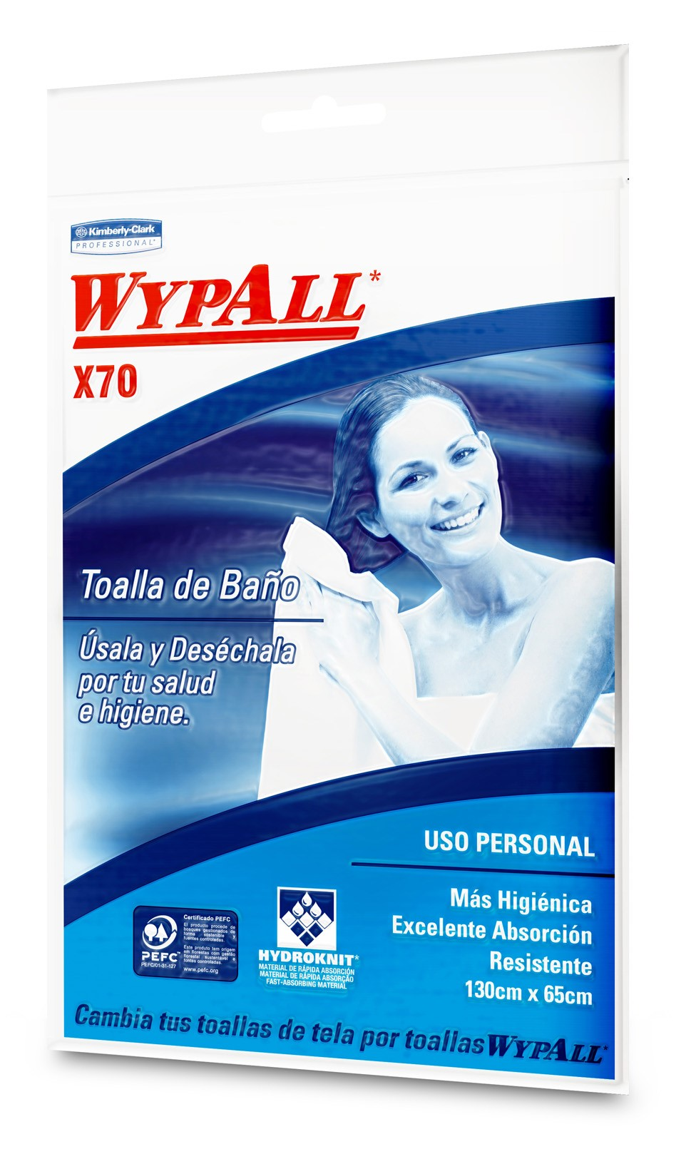 Toalla de Baño WYPALL*